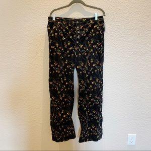 Anthropologie Pilcro Wide Leg Corduroy Pants